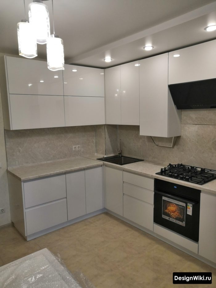 дизайн кухни в современном стиле 10 кв метров