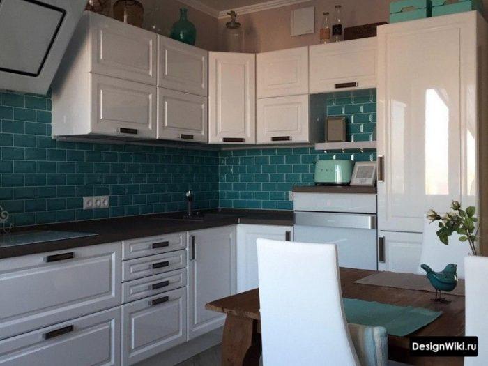 дизайн кухни в стиле неоклассика 10 м2