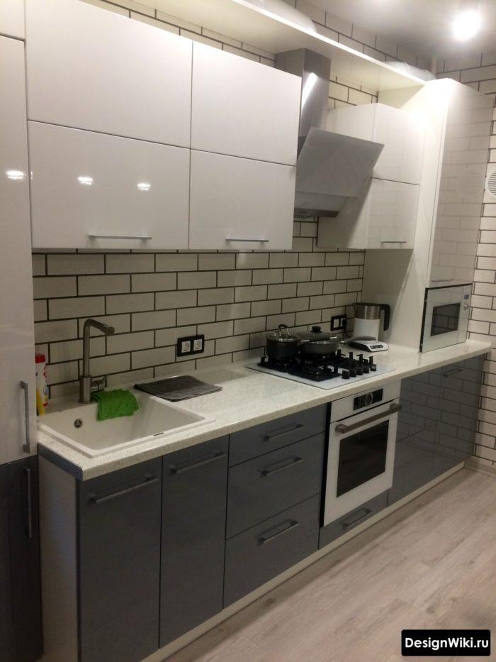 дизайн кухни гостиной 10 кв м