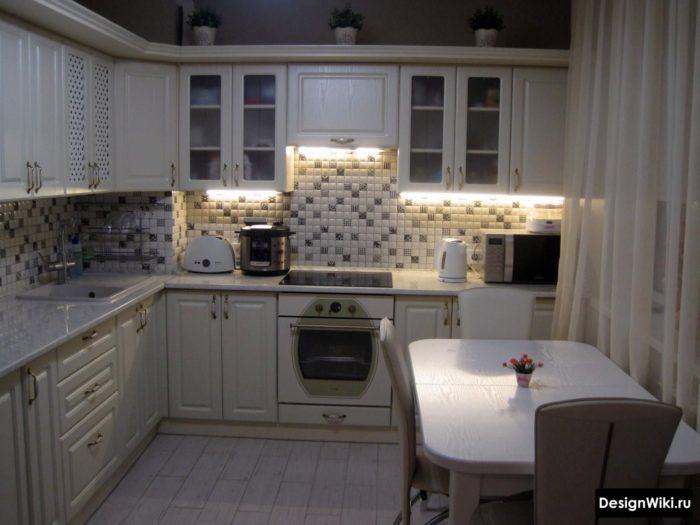 дизайн кухни гостиной 10 м2