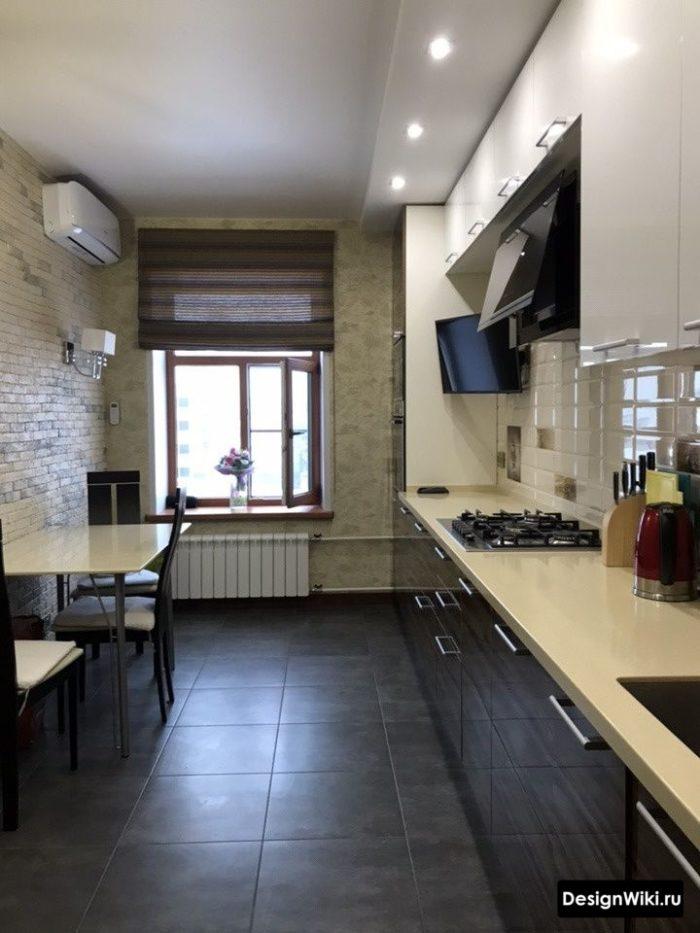 дизайн кухни гостиной 12 м2