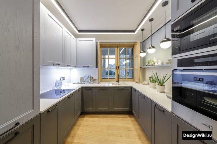 дизайн кухни спальни 12 кв м