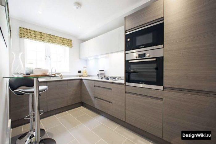 дизайн кухни с угловым диваном 10 кв