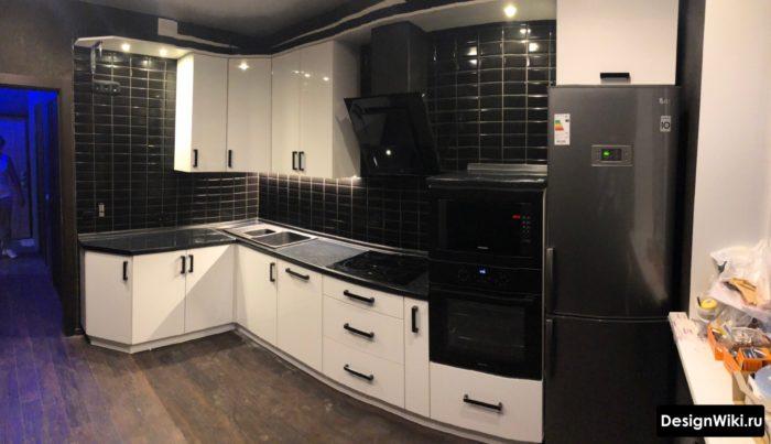 дизайн кухни 10 метров квадратная
