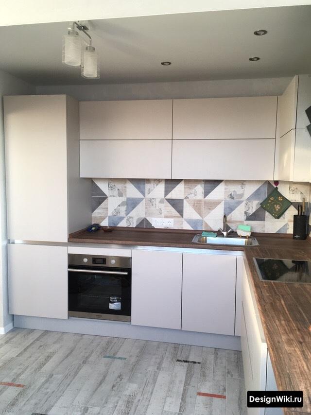 дизайн кухни 10 м2 с окном