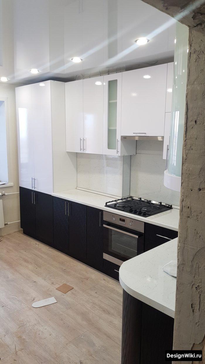 дизайн кухни 10 метров квадратных
