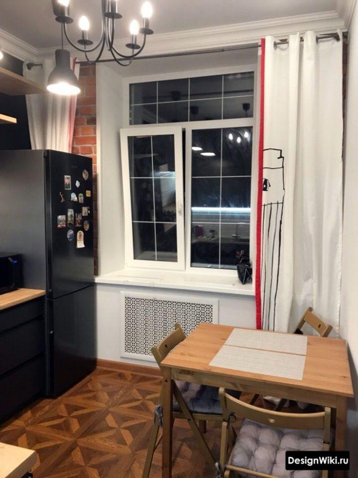 дизайн кухни 12 квадратных метров