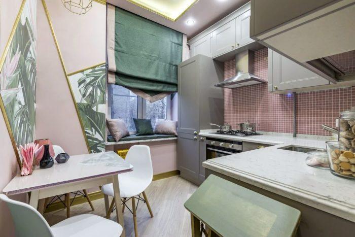 дизайн кухни 12 кв м новинки