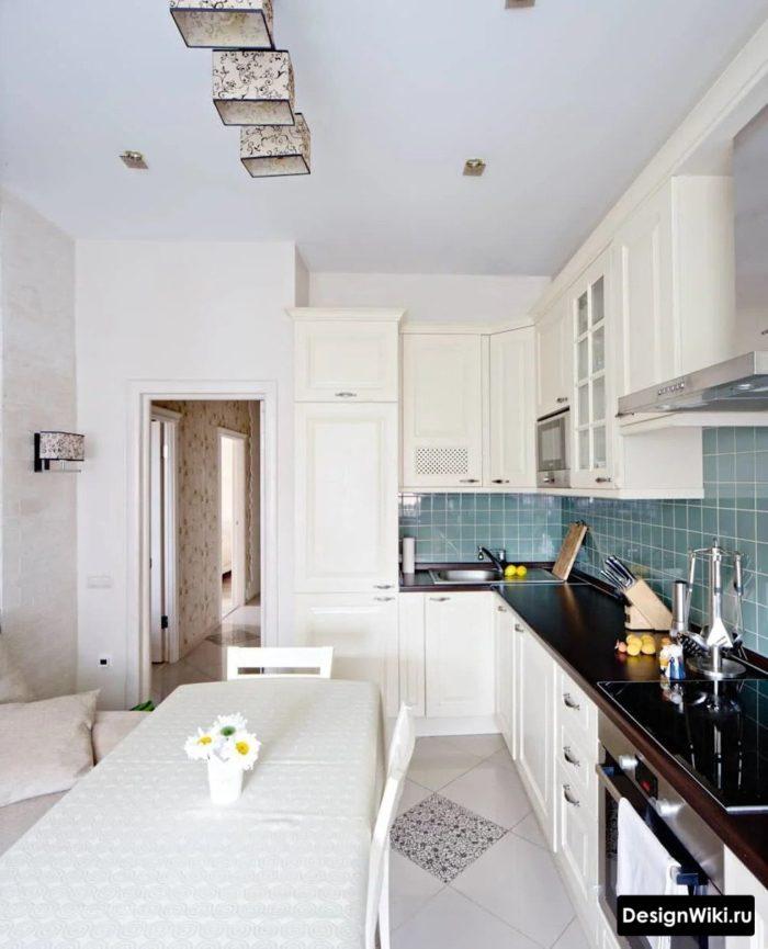 дизайн кухни 12 м2 в современном стиле