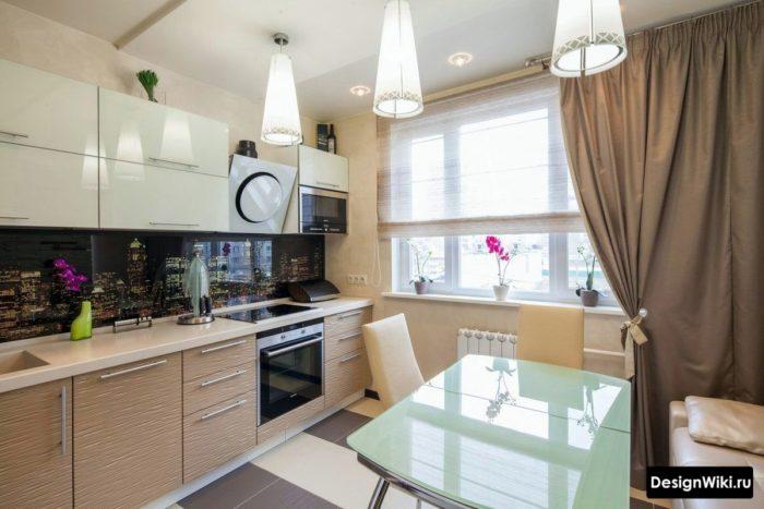 дизайн проекты кухонь 12 метров