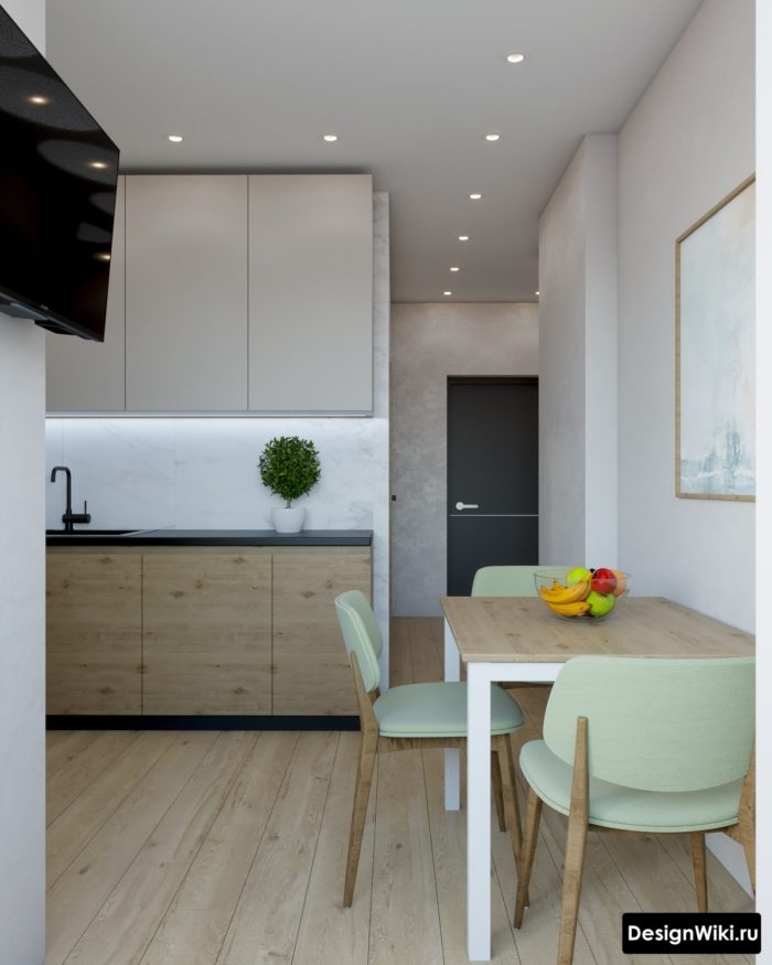 дизайн проект кухни 10 кв м