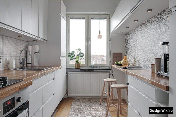 дизайн проект кухни 10 м