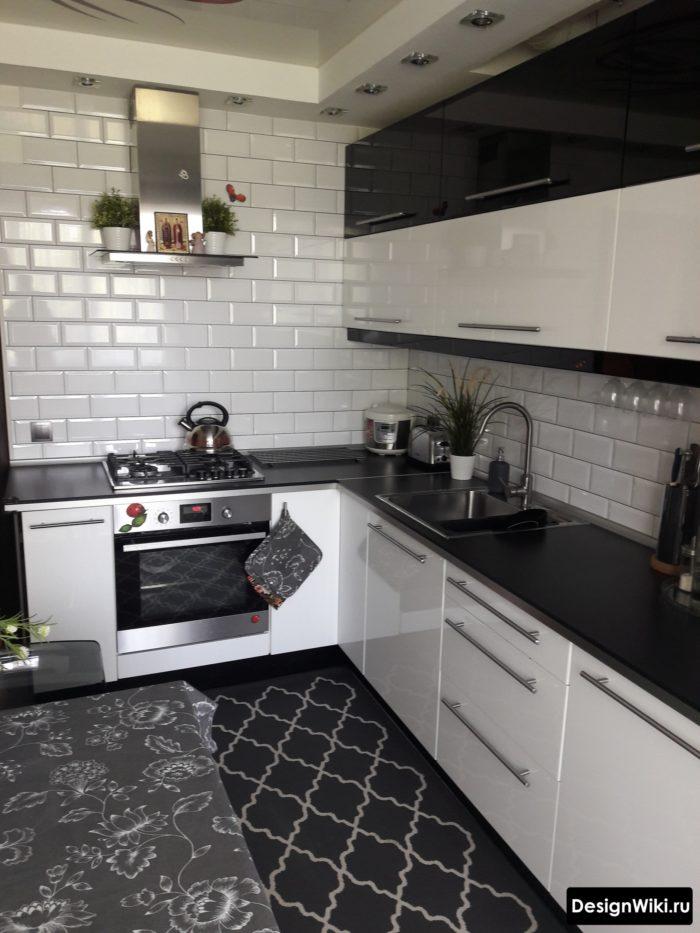 дизайн проект кухни 10 м2 с диваном
