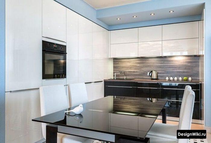 дизайн 12 метровой кухни