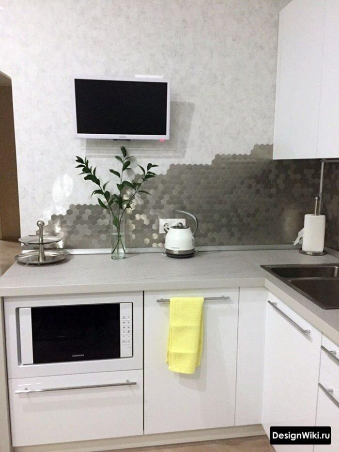 интерьер кухни в квартире 12 кв м