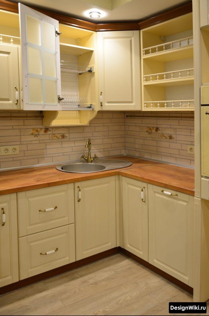интерьер кухни 10 кв м в современном стиле