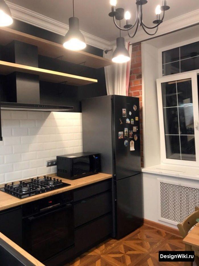 интерьер кухни 12 кв м