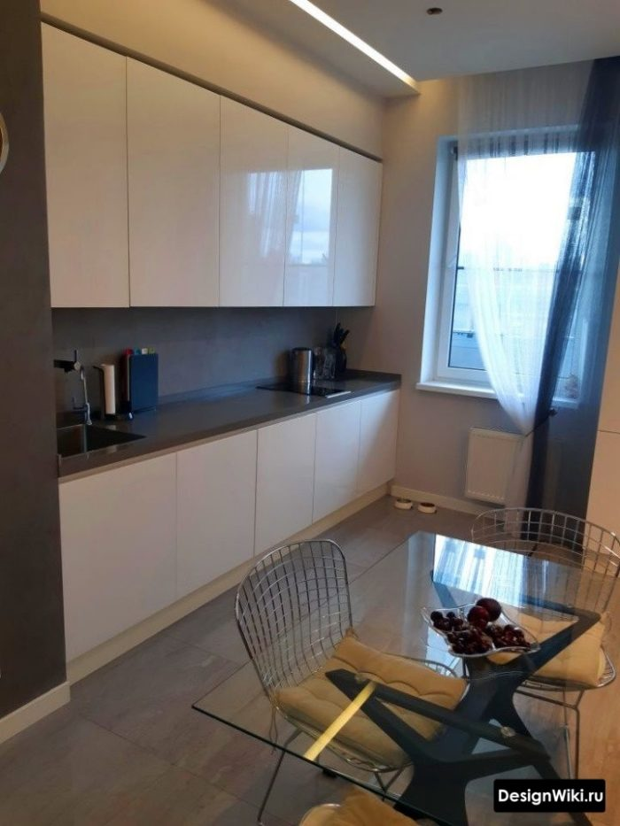 интерьер кухни 3 на 4 метра