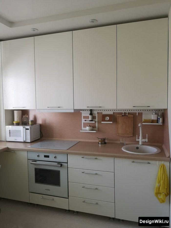 как обставить кухню 10 кв м