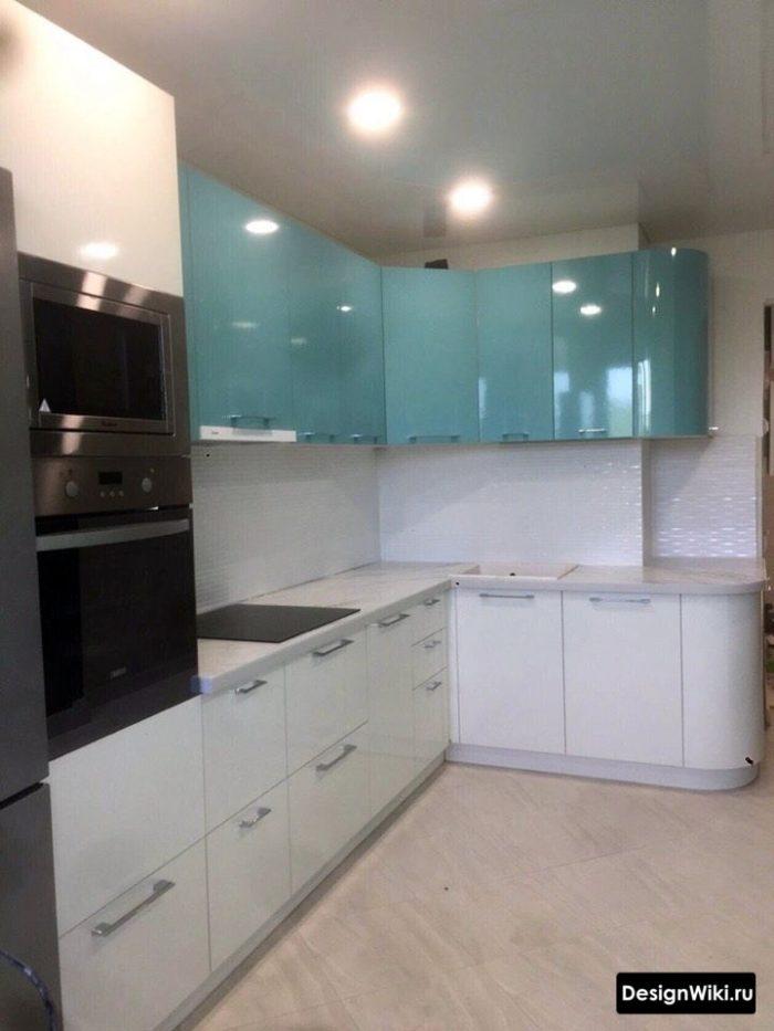 как обустроить кухню 12 кв метров