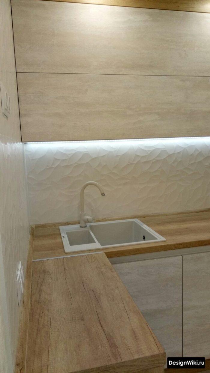 кухни дизайн для маленькой площади 9 10