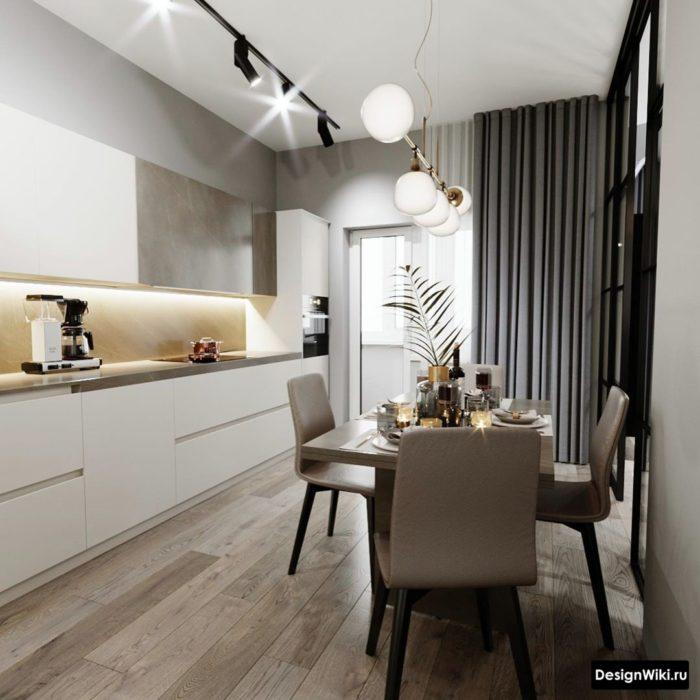 кухни дизайн проекты 12 кв метров