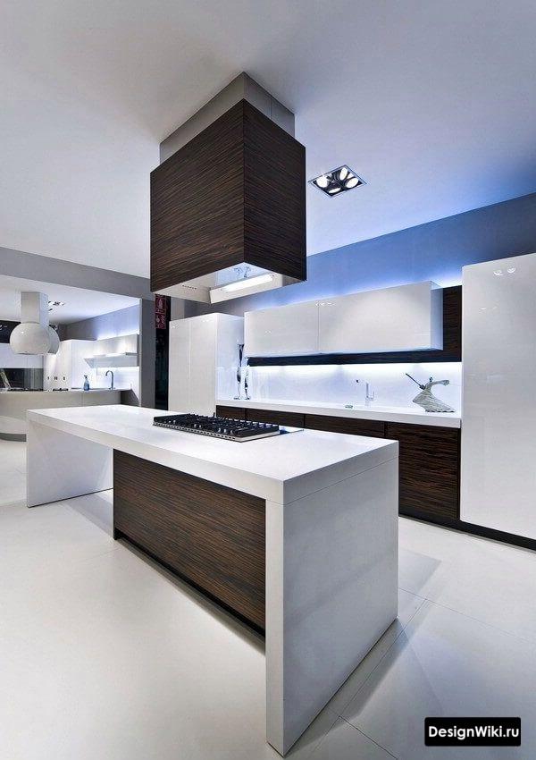 кухни хай тек 9 кв метров
