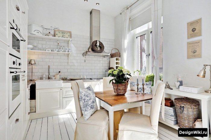 кухня в стиле лофт 12 кв м
