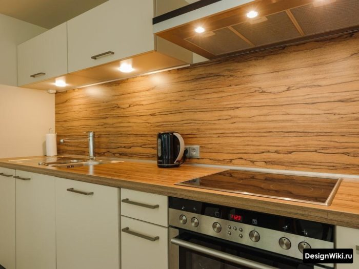 кухня в стиле хай тек 9 кв м