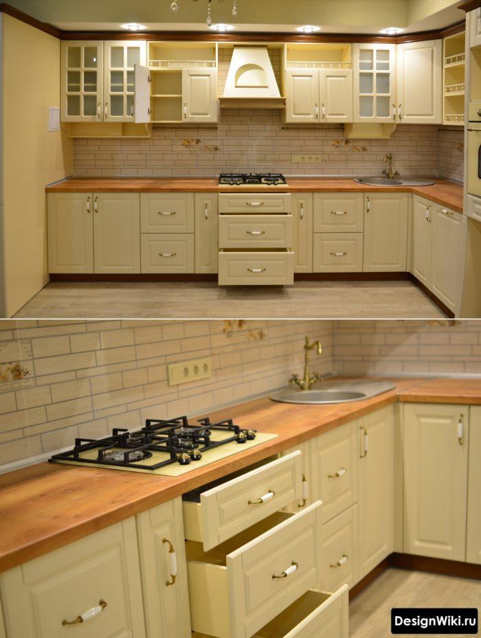 кухня гостиная 10 кв м с диваном