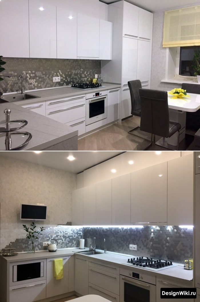 кухня дизайн интерьер 12 кв
