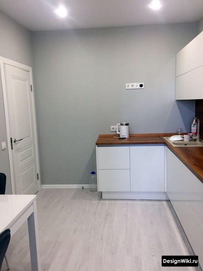 кухня с диваном 12 кв м