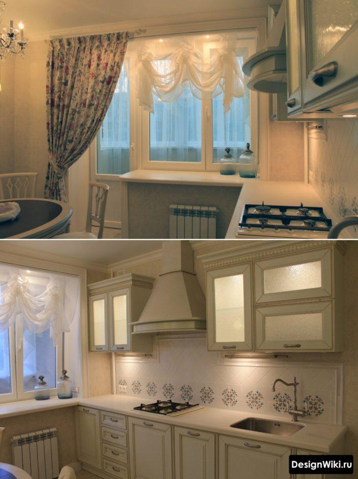 кухня угловая 10 кв м дизайн