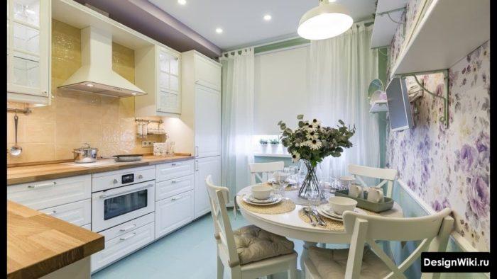 кухня 10 квадратов дизайн