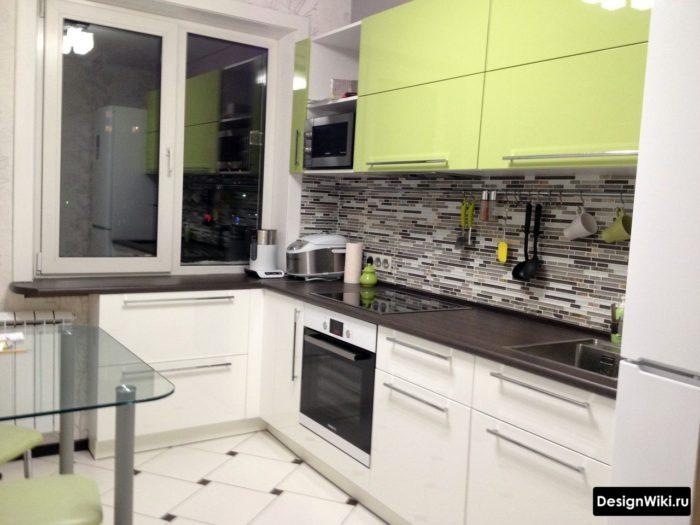 кухня 10 кв метров без дивана идеи