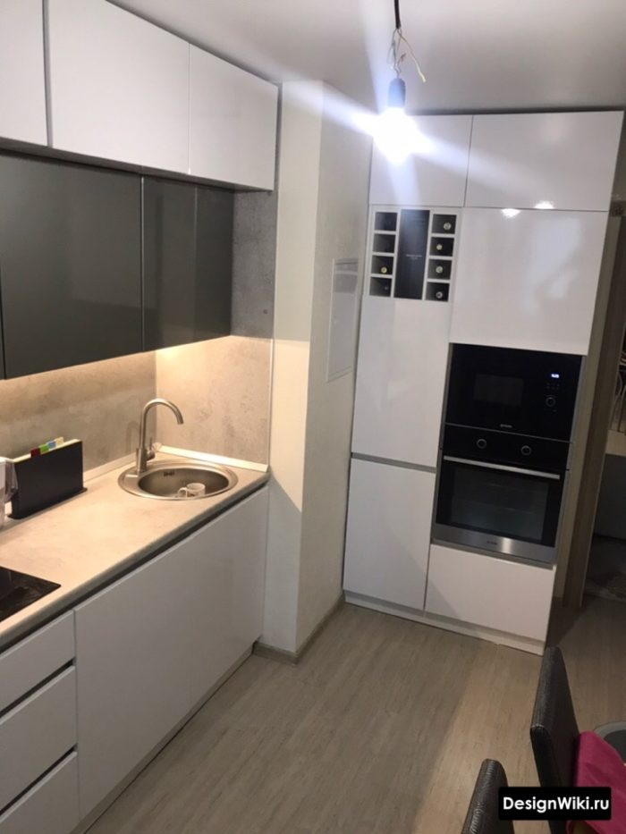 кухня 10 кв метров с диваном