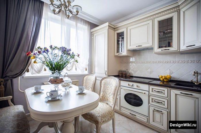 кухня 10 кв м современный дизайн