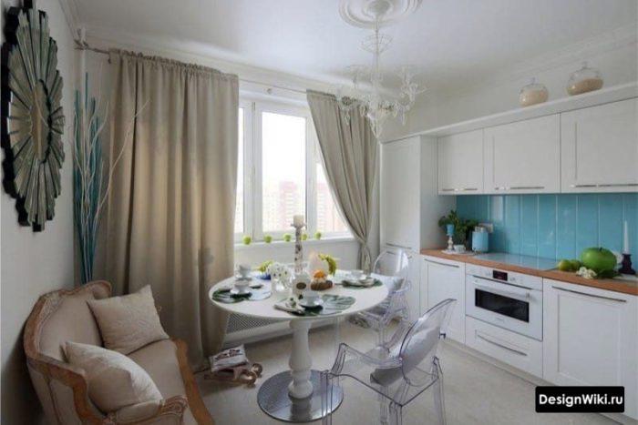 кухня 12 кв метров дизайн
