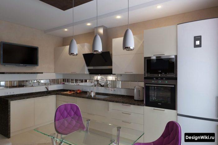 кухня 12 кв метров идеи для кухни интерьеры