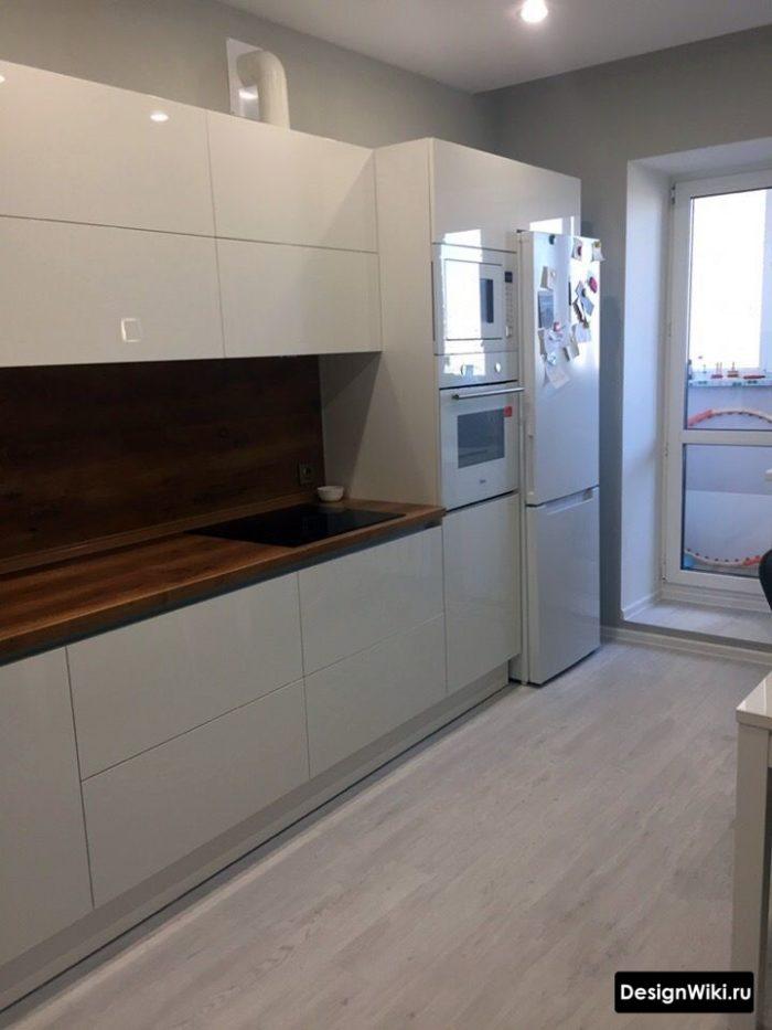 кухня 12 метров дизайн