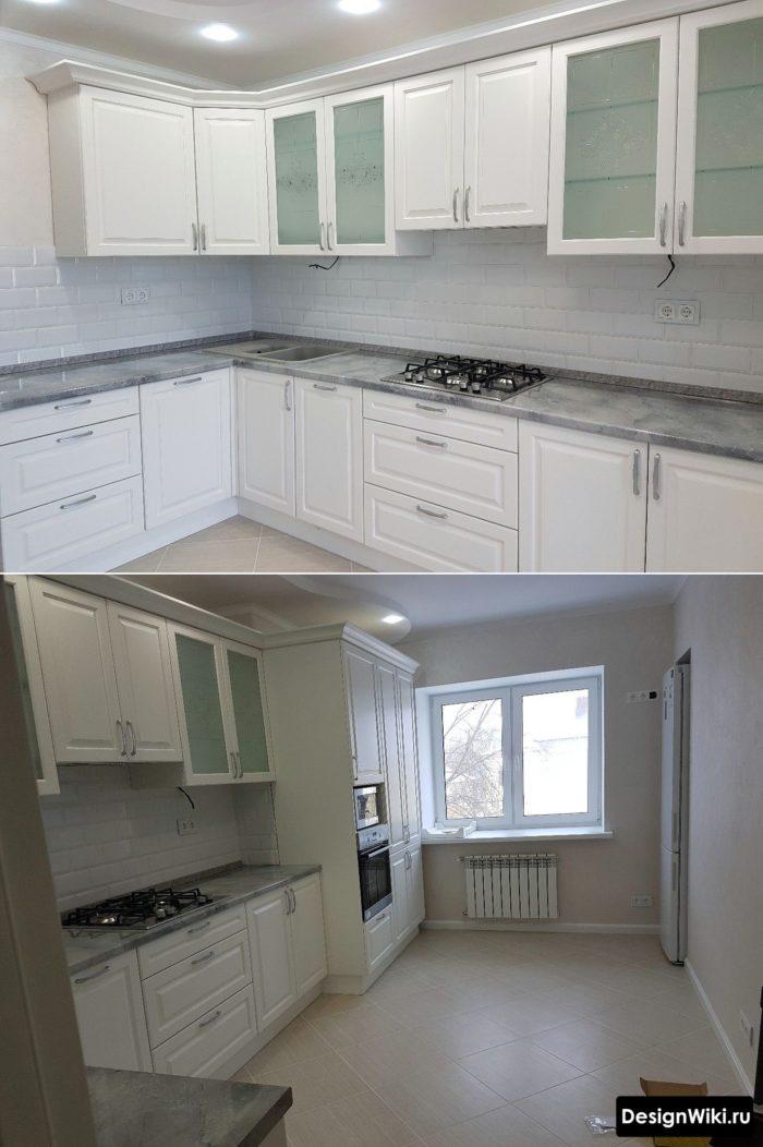 кухня 3 на 4 дизайн
