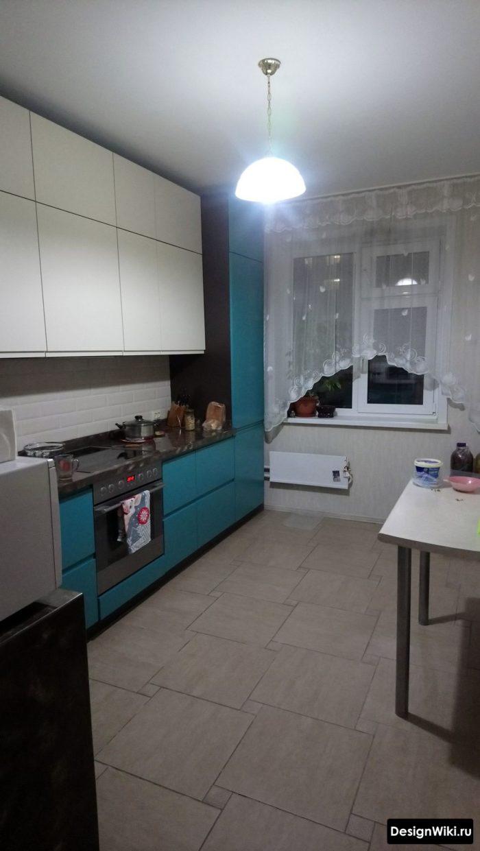 кухня 3 на 4 метра дизайн