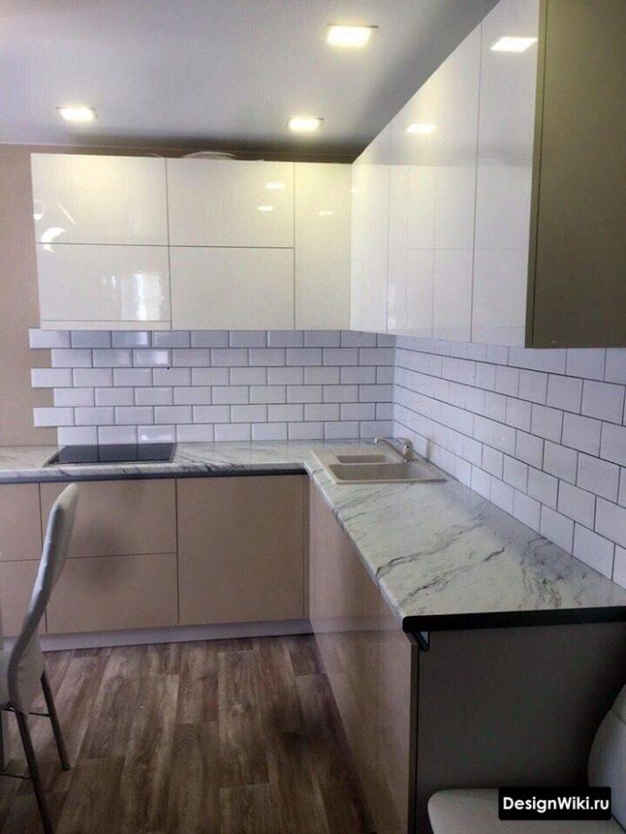 образцы кухонь для кухни 12 кв м