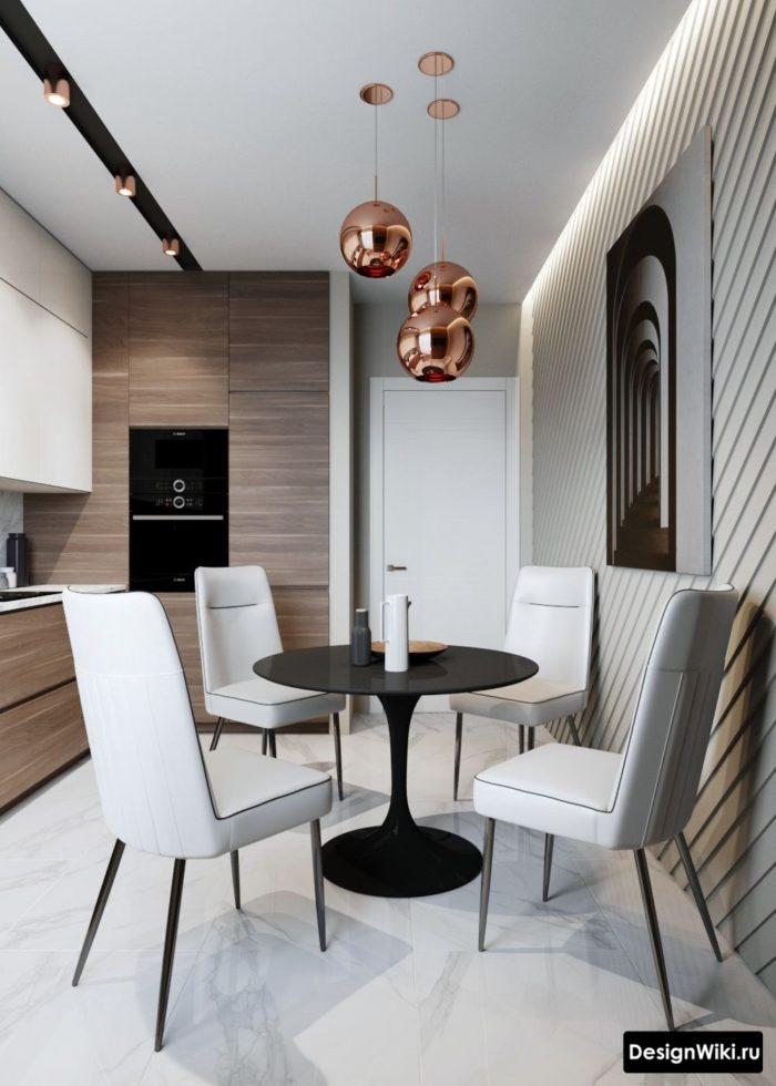 планировка кухни 12 кв м с диваном