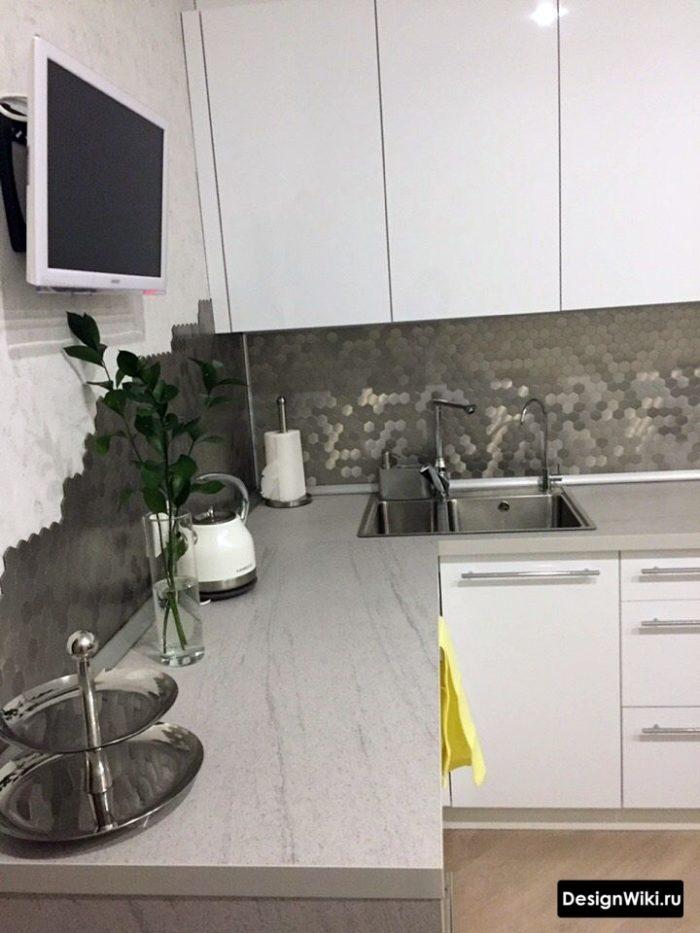 проекты кухни 12 кв м