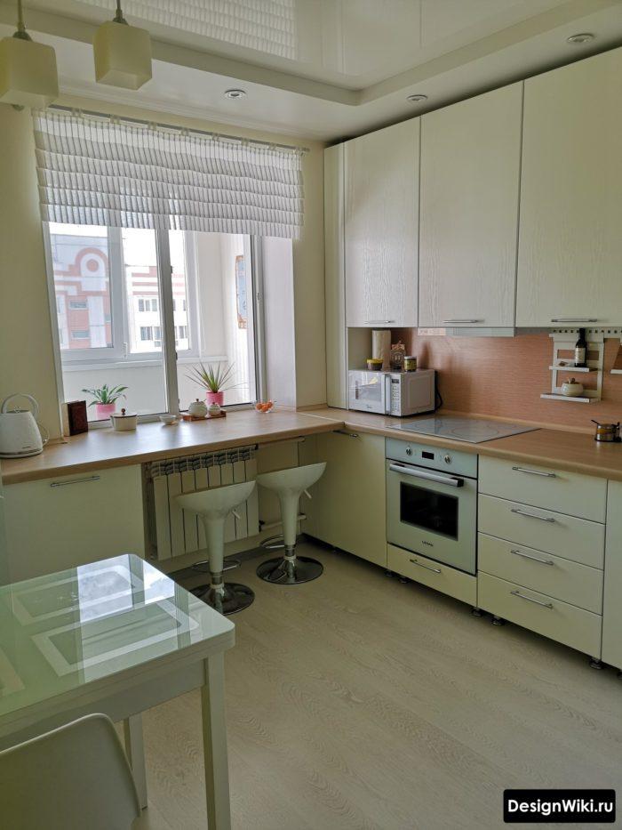 проект кухни 10 кв метров