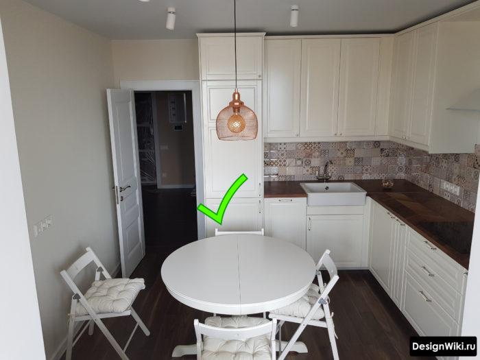 проект кухни 10 кв м