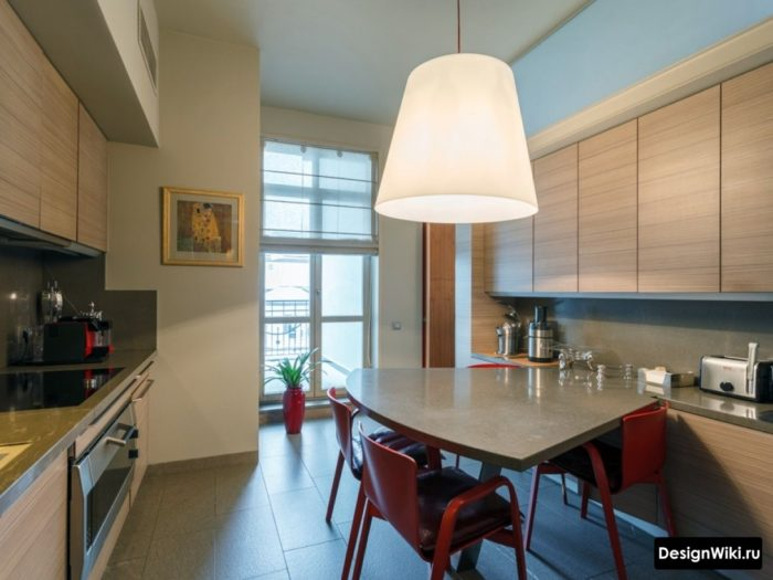 проект кухни 12 кв м с диваном