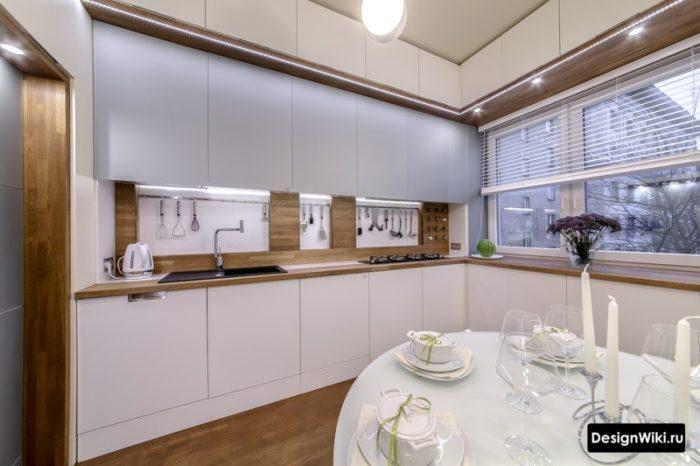 ремонт кухни 12 кв метров