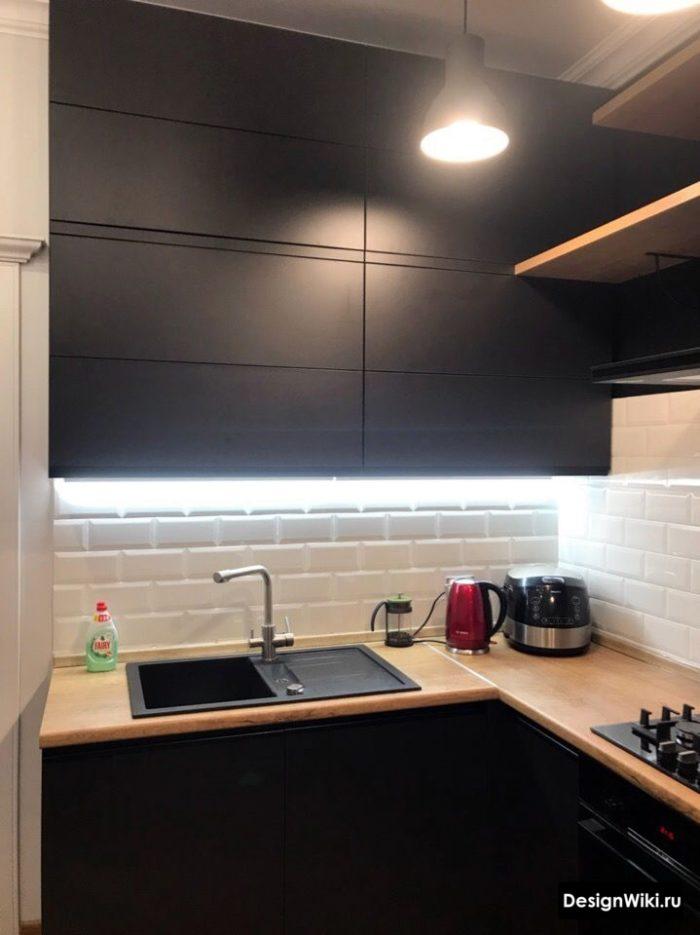 современная кухня 12 кв м